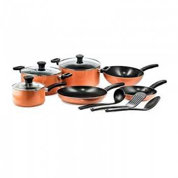 Set 10 Pièces TEFAL Prima B168A474 Orange Tunisie