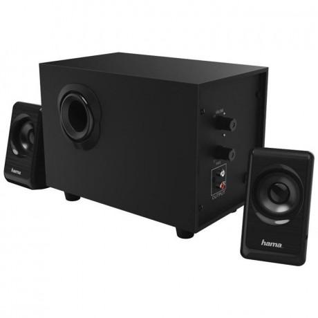 Haute Parleur Hama Systeme Audio 2.1 BA-2112. Noir Tunisie