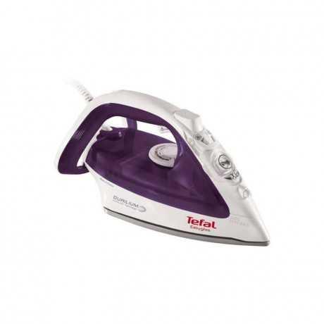 Fer à Vapeur EasyGliss TEFAL FV3955 2400W - Blanc & Violet