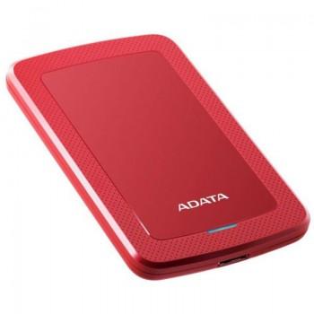 Disque Dur Externe ADATA HV300 1To USB 3.1 - Rouge