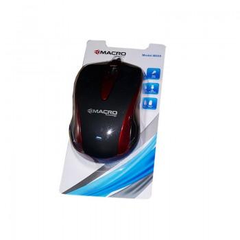 Souris Optique USB Macro KM-555-Rouge prix tunisie