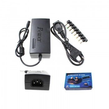 Adaptateur secteur universel de chargeur de l'ordinateur portable avec 8 connecteurs