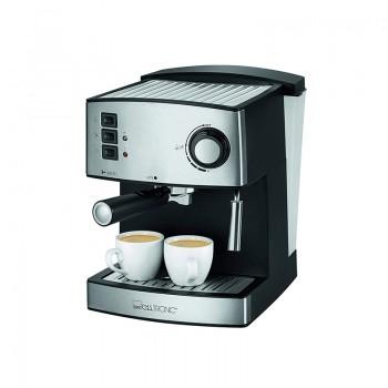 Machine à Café Expresso CLATRONIC 15 bars 850W - Argent prix tunisie