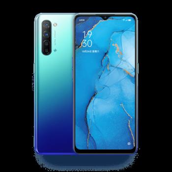 Smartphone OPPO RENO 3 bleu