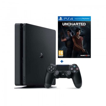 PlayStation 4 SONY 500 Go Slim + Uncharted 4 The Lost Legacy prix tunisie