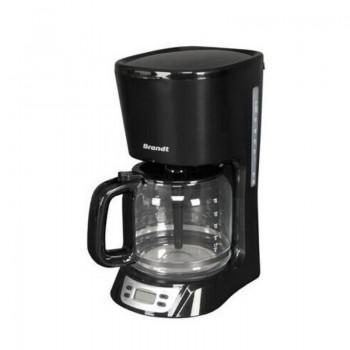 Cafetière à Filtre Brandt 18 tasses 1000 Watt 1,8L CAF1318E Noir