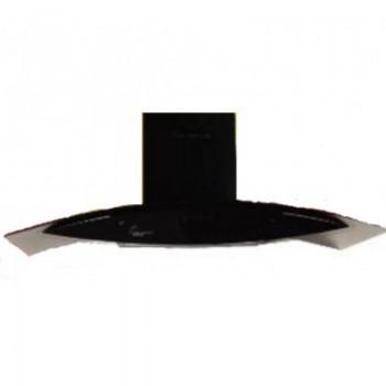 Hotte pyramide MONTBLANC HP90BL 90 cm- Noir prix tunisie