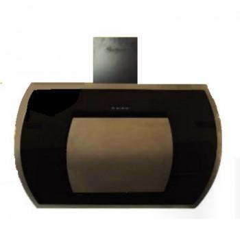 Hotte inclinée MONTBLANC HDI90BLX 90 cm- Inox et Noir prix tunisie