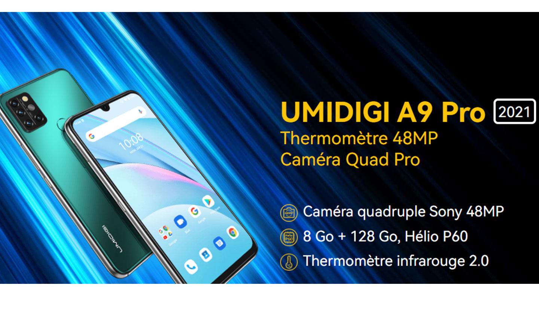 Umidigi A9 Pro 2021 prix tunisie